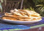 delicious flaky sourdough flatbreads