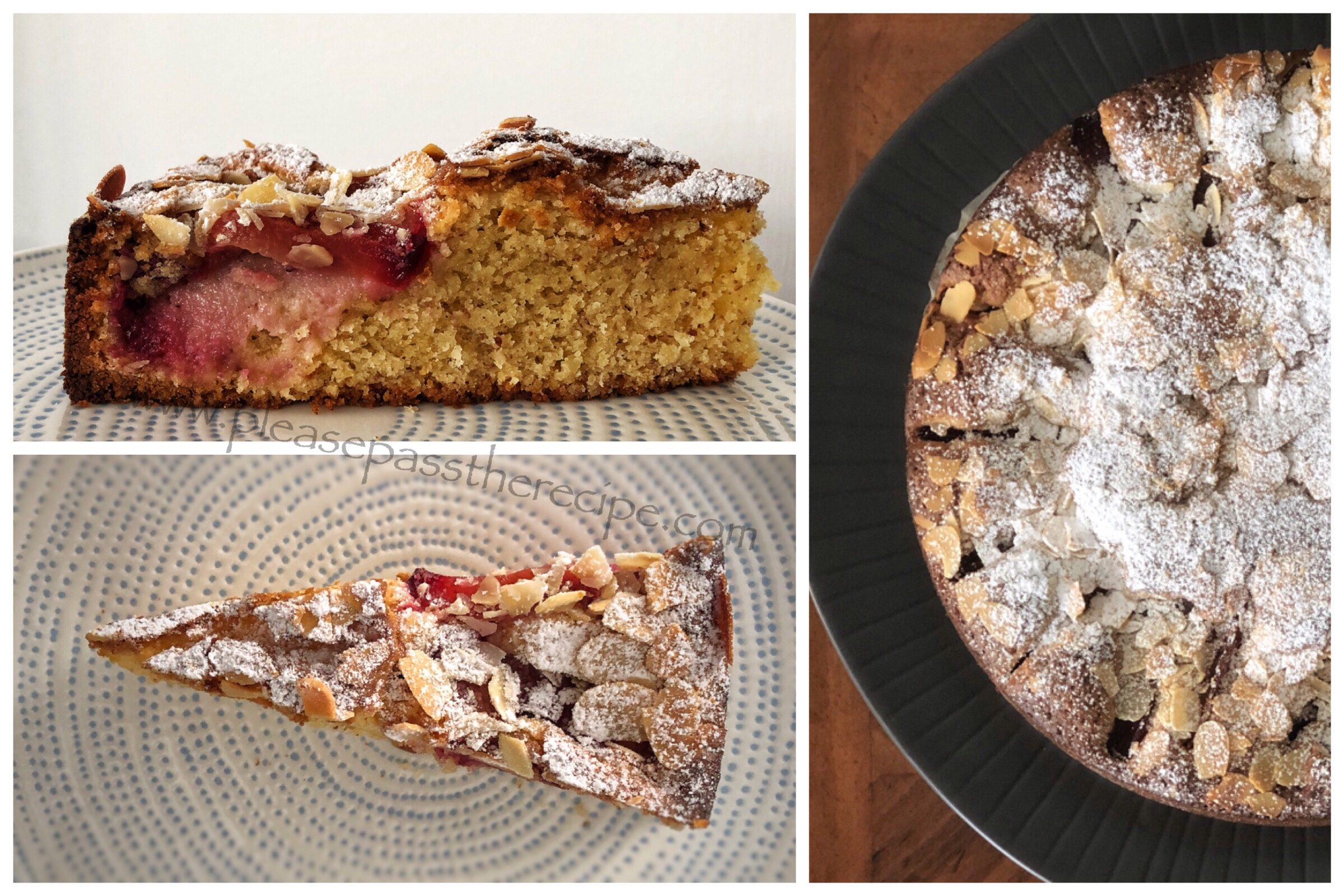 Plum And Flaked Almond Cake Recipes