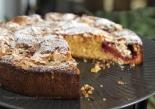 Marzipan Plum Cake