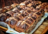 Spelt sourdough hot cross buns #3
