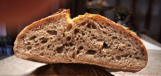 100% spelt sourdough seed bread