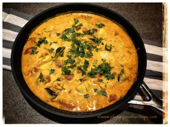 Quick Barramundi Curry