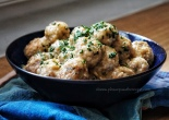 Spanish Meatballs in Almond Sauce