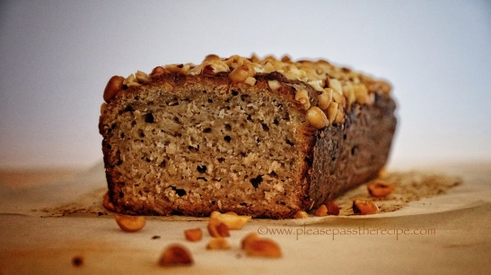 Peanut Butter Banana Loaf